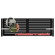 Brama dwuskrzydłowa TRENTO 400x140 + automat