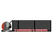 Brama przesuwna TRENTO 400x135 + automat