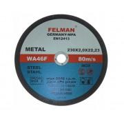 Tarcza do cięcia metalu FELMAN INOX