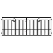 Brama dwuskrzydłowa ANCONA 400x145