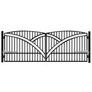 Brama dwuskrzydłowa GENUA 400x145
