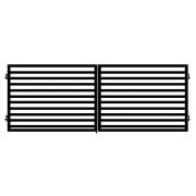 Brama dwuskrzydłowa PARMA 400x145