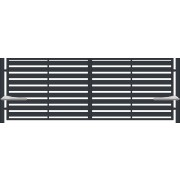 Brama dwuskrzydłowa TREVISO 400x145