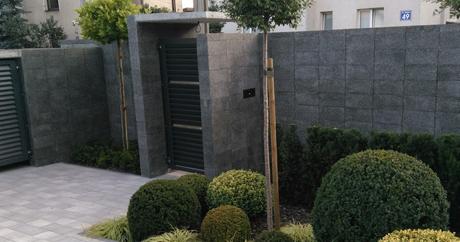 ogrodzenie szlifowane